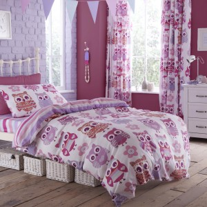 Owl childrens bedding from The Range