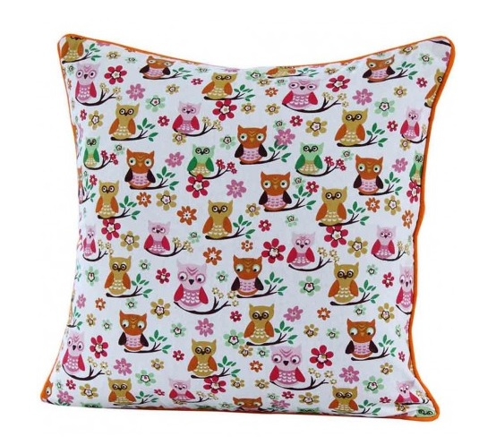 Owls scatter cushion
