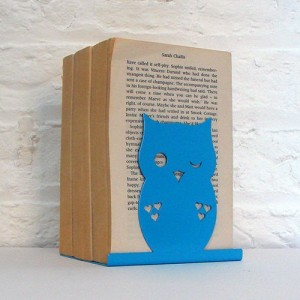Blue Owl Bookend