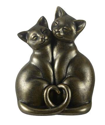 Cat ornament from Dunelm